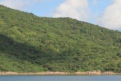 Sikter och natur för Hong Kong slinga härliga, royaltyfri fotografi