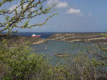 Sikter runt om Boca Sami Royaltyfria Foton