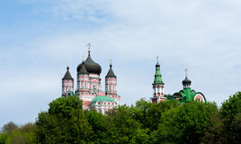 Siktkyrka kyrklig kupol Arkivfoton