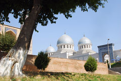 SiktsDzhuma moské i Tasjkent arkivfoton