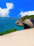 Siktspunkt på den similan ön Fotografering för Bildbyråer
