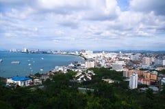 Siktspunkt på Pattaya Arkivfoto