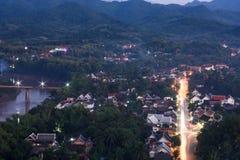 Siktspunkt på Phu si Royaltyfria Bilder
