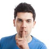 Silêncio Imagens de Stock