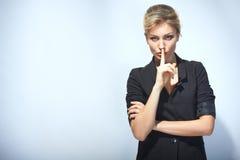 Silêncio. Imagens de Stock Royalty Free