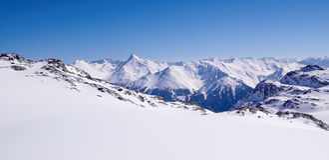 Silêncio da montanha Foto de Stock