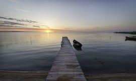 Silêncio do nascer do sol Fotografia de Stock Royalty Free