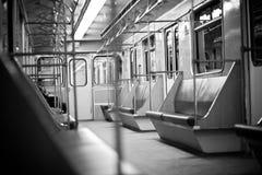 Silêncio do tempo do metro fotografia de stock royalty free