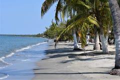 Silêncio, praia abandonada em Colômbia Imagem de Stock Royalty Free