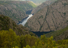 Sil River Canyon Royalty Free Stock Photography