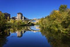 Sil rzeka Fotografia Stock