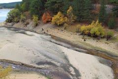 SILA河, CECITA湖 库存图片