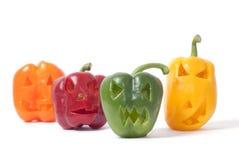 Sila-o-Lyktor som göras ut ur grönsaker Royaltyfri Foto