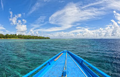 Siladen turquoise tropical paradise island Stock Images