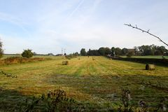 Silage preparation Royalty Free Stock Photography