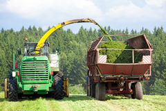 Silage Season Stock Photography