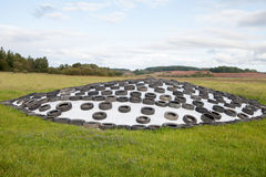 Silage storage. Stock Image
