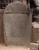 Silalekh Historyczny kamień Obrazy Royalty Free