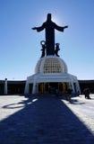 Silao, Mexico-January 8, 2017: Christ the King Church Royalty Free Stock Image