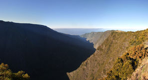Silaos Cirque of Reunion Island Wide View Royalty Free Stock Image