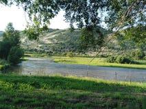 Silas-Holz River Valley! Lizenzfreies Stockbild