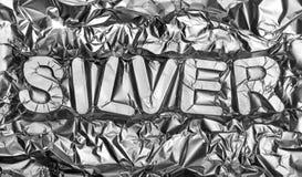 Silber Stockbild