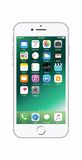 Silber-farbiges iPhone 7 Lizenzfreies Stockbild