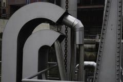 Silber leitet Hafen Industrie Stockfoto