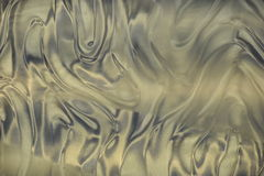 Silber Metallic Waves Stock Image