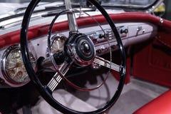 Silber Nash-Healeykabriolett 1953 durch Pinin-Farin Lizenzfreie Stockbilder