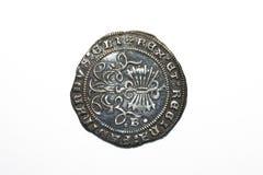 Silber real von den katholischen Königen Lizenzfreie Stockfotografie