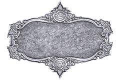 Silber schnitzen Lizenzfreies Stockbild