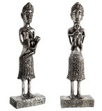 Silber statue Maternity Stock Images