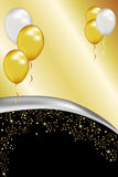 Silber und Gold Lizenzfreie Stockfotografie