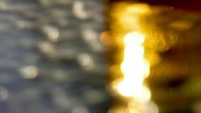 Silber- und Goldhintergrund Stockbilder