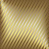 Silber- und Goldstreifen stock abbildung
