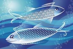 Silberfischchen Lizenzfreies Stockfoto