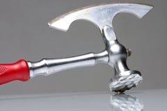 Silberne Axt Lizenzfreies Stockfoto
