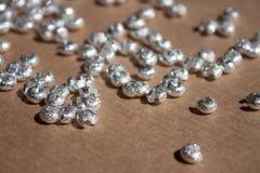 Silberne Falzabdeckungen lizenzfreies stockbild