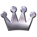 Silberne Krone Lizenzfreie Stockfotografie