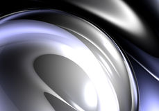Silberne Luftblase 01 Stockfoto