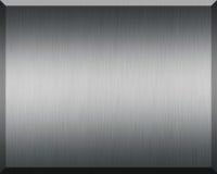 Silberne Platte lizenzfreie abbildung