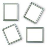 Silberne Rahmen Stockfotografie