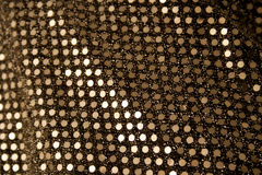 Silberne Sequins Stockbild