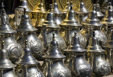 Silberne Teekannen Stockbilder