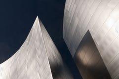 Silberne und blaue Formen lizenzfreie stockfotos