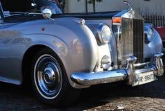 Silberne Wolke Rolls Royces Stockfotografie