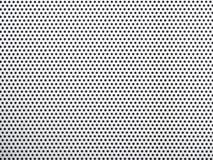 Silberner Aluminiumsprechergrill Stockfotografie