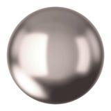 Silberner Ball Stockfotografie