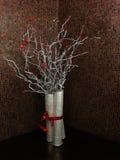 Silberner Baum Stockfotos